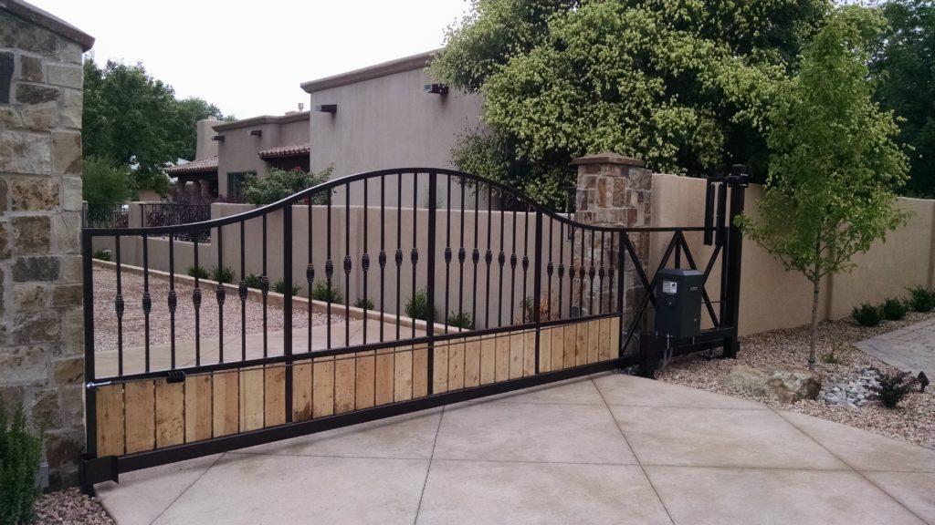 Custom Designed Property Entry Gate