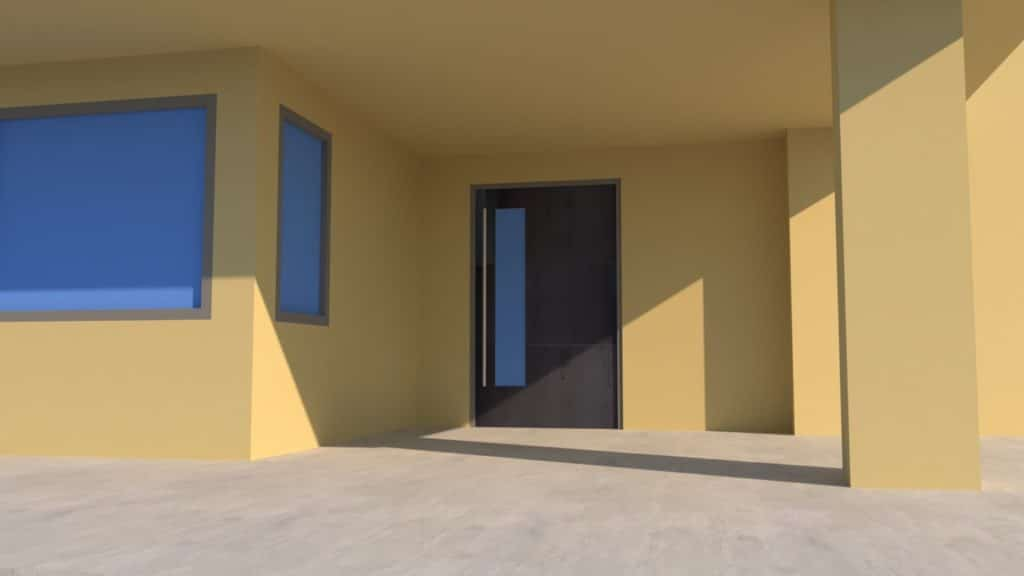 Custom Modern Front Door | More Than Gates