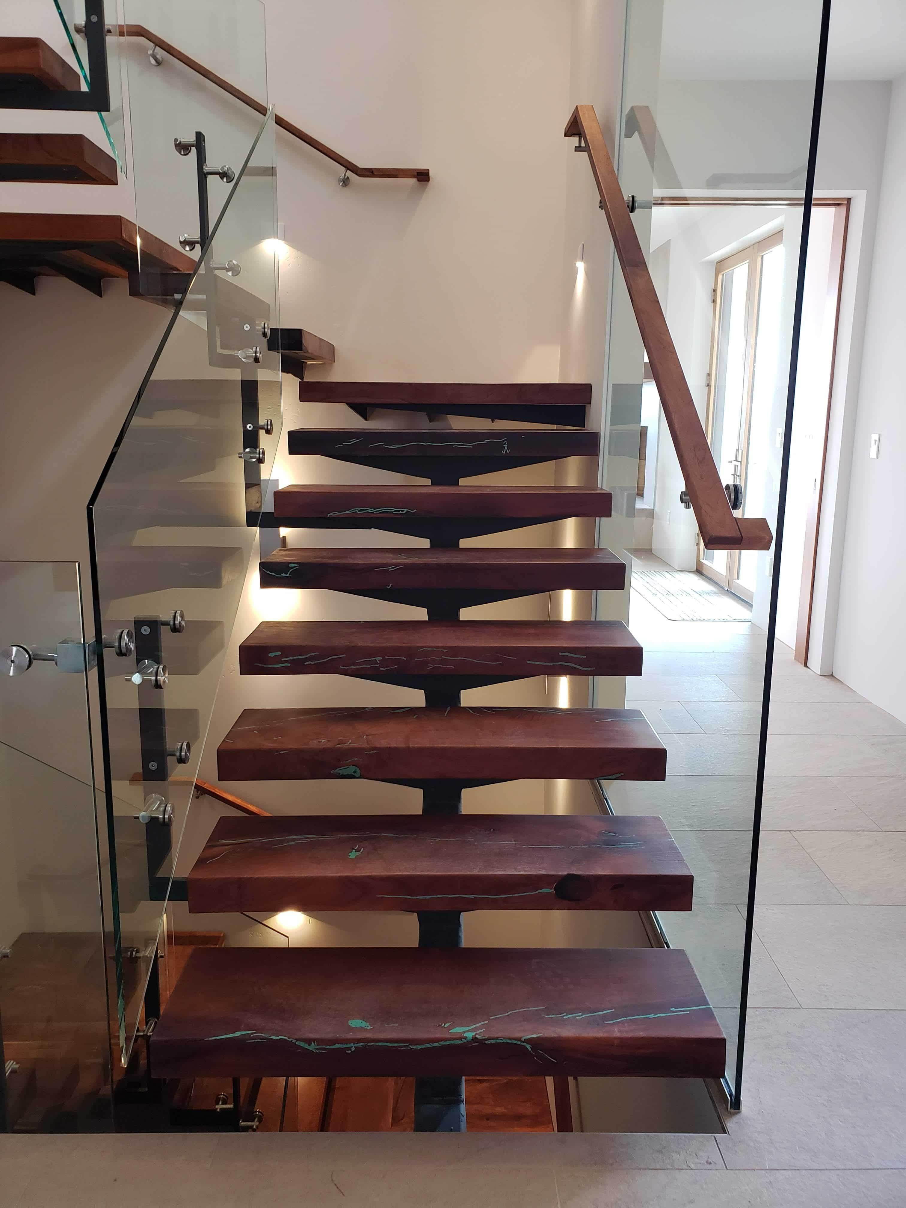 Custom Modern Floating Staircases