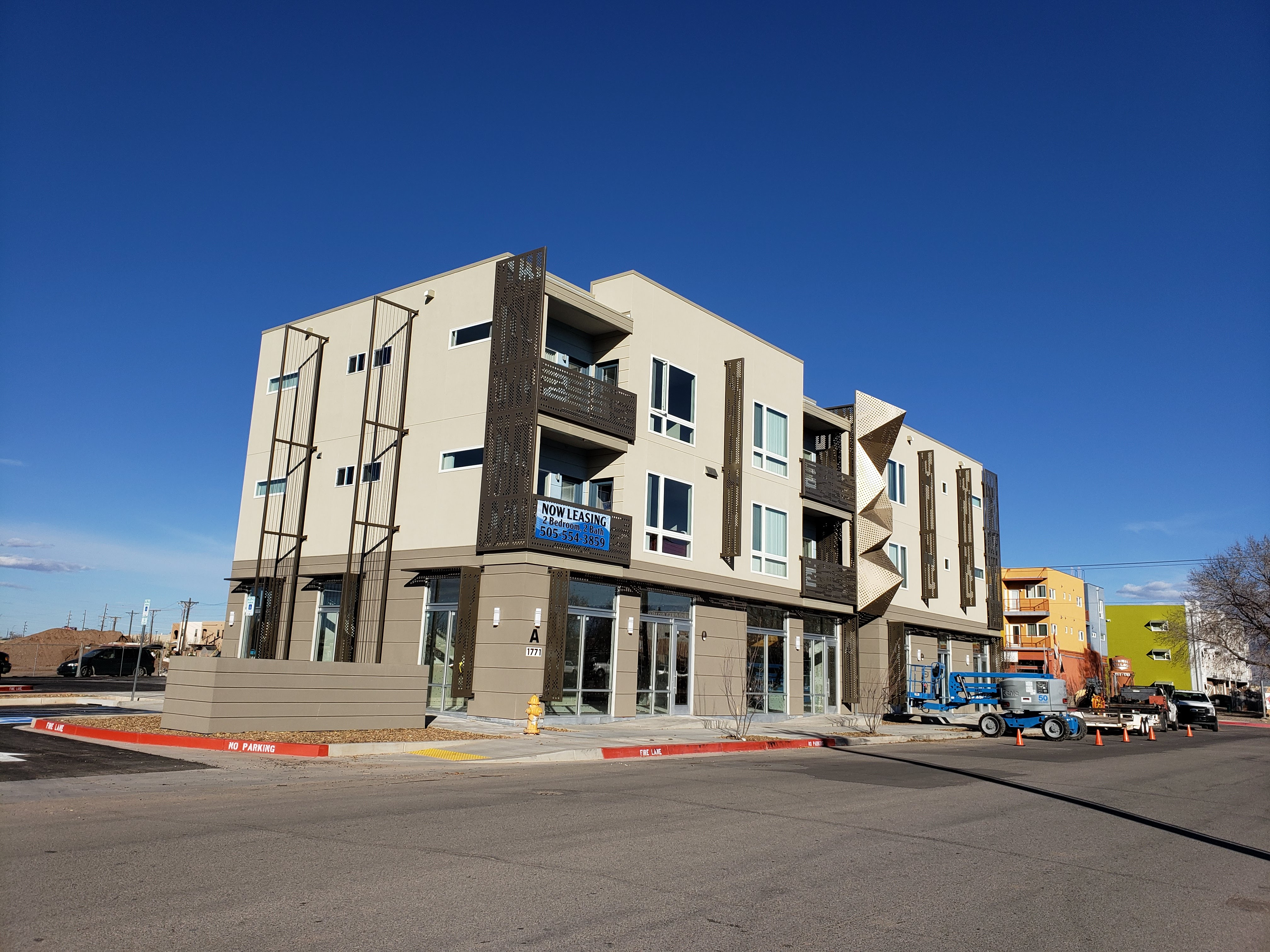 Apartment Complex Construction Project