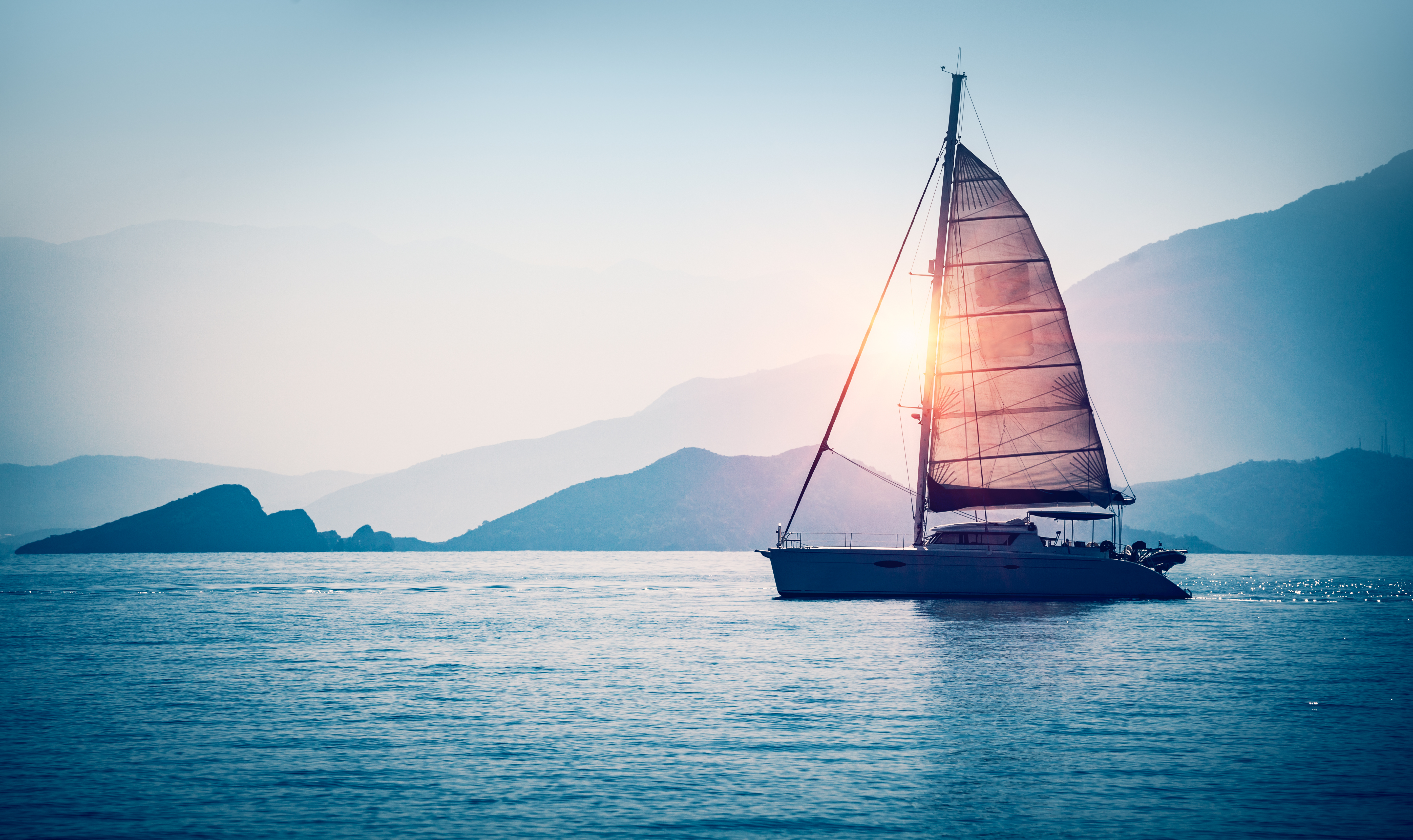 Winter Vacations   Sailing in the Caribbean